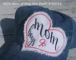 SSCA Mom of Boys Hat Patch