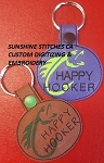SSCA Happy Hooker Fob/Key Chain