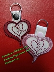 SSCA SMALL LAYERED HEART FOB