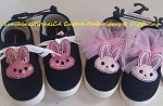 SSCA Shoe Tabs Pair of Bunnies