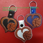 SSCA Layered Basketball Fob