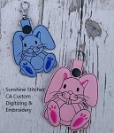 SSCA Buster Bunny Key Fob Two Sizes