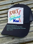 SSCA Dirt and Diamond Mom Hat Patch