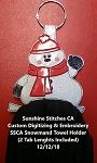 SSCA Snowman Towel Holder