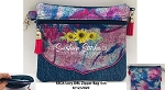 SSCA  Lucy DBL Zipper Bag 5x6