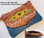 SSCA  Lucy DBL Zipper Bag 5x7