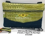 SSCA  Lucy DBL Zipper Bag 11x7