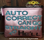 SSCA Auto 5x6 Zipper Bag ( ITH LINED)