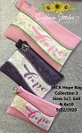 SSCA Hope Lined Zip Bag Collection (3 Sizes) 5x7, 6x8 & 6x10