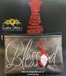 SSCA  Christmas Blessed 5x7 Lined Zipper Bag