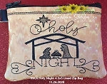 SSCA  Holy Night 4.5x5 Zipper Bag ( ITH LINED)