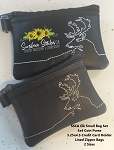 SSCA Small Elk Bag Set 3x4 & 3.25x4.5   2 Sized   Coin Purse and Credit Card Holder