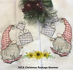 SSCA Christmas Package Gnome 5x7