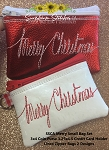 SSCA Small Merry Bag Set 3x4 & 3.25x4.5   2 Sized   Coin Purse and Credit Card Holder