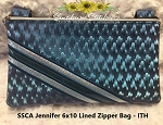 SSCA Jennifer 6x10 Lined Zipper Bag