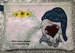 SSCA Lovely Gnome 5x7 Lined Zip Bag