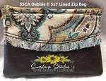 SSCA Debbie II 4x5.5 Zipper Bag - Lined
