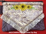 SSCA Debbie III 4x5.5 Zipper Bag - Lined