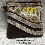 SSCA Debbie IV 4x4 Zipper Bag - Lined