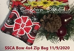 SSCA Bow 4x4 Lined Zipper Bag