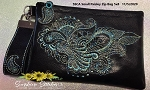 SSCA Small Paisley 5x7 Zipper Bag