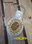 SSCA Tiny Sunflower Fob 4x4