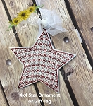 SSCA Star 2 Ornament