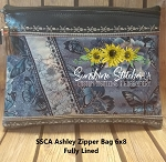 SSCA Ashley 6x8 Zipper Bag