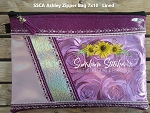 SSCA Ashley 7x10 Zipper Bag