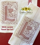 SSCA Love Towel Set 5x7