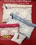 SSCA Special Daisy Set of 4 Zipper Bag