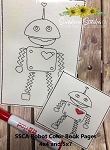 SSCA Robots Color Book Pages 4x4 and 5x7