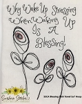 SSCA Blessing 5x7 Dish Towel Design
