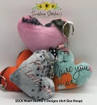SSCA Heart Stuffie - 3 Designs