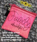 SSCA Family Always 4x4 Zipper Bag
