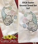 SSCA Easter Gnome Towel Set