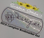 SSCA Caregiver Bookmarker 4x4