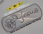 SSCA Jesus Bookmarker 4x4