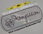SSCA Compassion Bookmarker 4x4