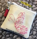 SSCA Butterfly 4x4 Zipper Bag Lined
