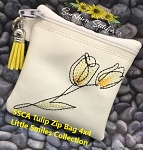 SSCA Tulip 4x4 Zipper Bag Lined