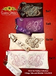 SSCA Small Paisley Collection Zipper Bag  4 Sizes