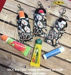 SSCA Key Chain Holder (Single or Multi Hoop Stitching)