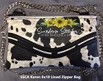 SSCA Karen 6x10  Lined Zipper Bag